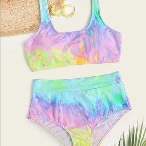 SHEIN Tie Dye Bikini